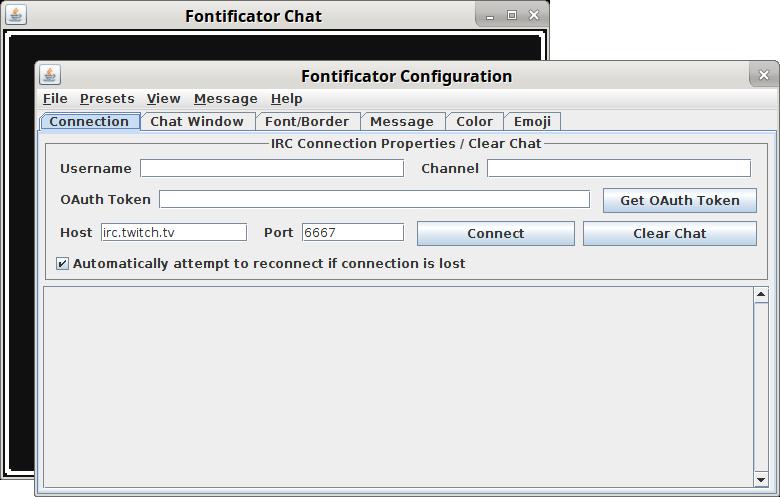 Chat Game Fontificator
